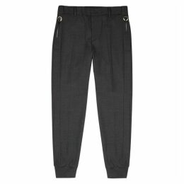 Wooyoungmi Grey Slim-leg Trousers