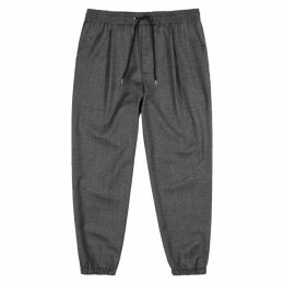 McQ Alexander McQueen Grey Stretch-wool Sweatpants