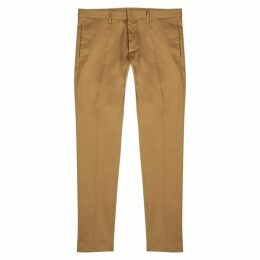 Dsquared2 Cool Guy Camel Stretch-cotton Chinos