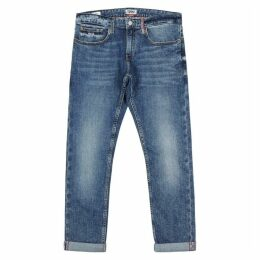 Tommy Jeans Blue Slim-leg Jeans