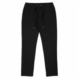Kenzo Black Panelled Cotton Sweatpants