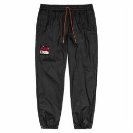 Heron Preston CTNMB Black Shell Sweatpants