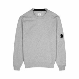 C.P. Company Grey Cotton-jersey Sweatshirt