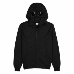 C.P. Company Black Hooded Cotton Sweatshirt