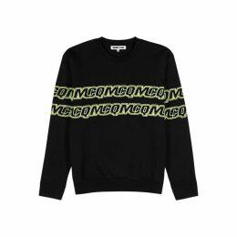 McQ Alexander McQueen Black Logo Cotton Sweatshirt