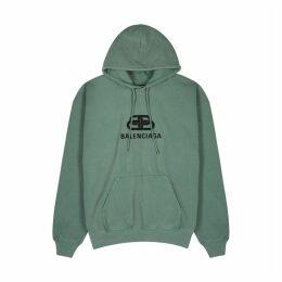 Balenciaga BB Logo-print Cotton Sweatshirt