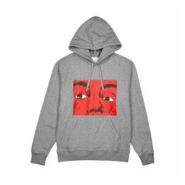 JW Anderson Grey Printed Jersey Sweatshirt