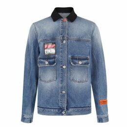 Heron Preston Pocket Denim Jacket
