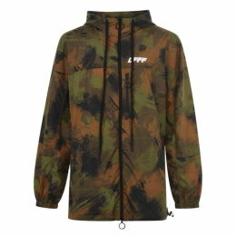 Off White Unfinished Camo Jacket