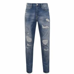 True Religion Rocco Patch Jeans - Blue