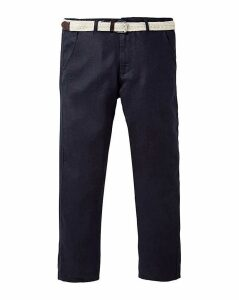 WILLIAMS & BROWN Linen Trousers 31in