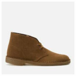 Clarks Originals Men's Suede Desert Boots - Cola - UK 11