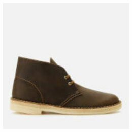 Clarks Originals Men's Leather Desert Boots - Beeswax - UK 11