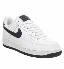 Nike Air Force 1 07 WHITE OBSIDIAN WHITE OCEAN CUBE