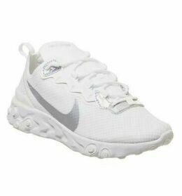 Nike Element React 55 SUMMIT WHITE METALLIC SILVER