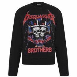 DSquared2 Metal Rock Sweatshirt