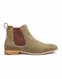 Jacamo Premium Suede Chelsea Boots