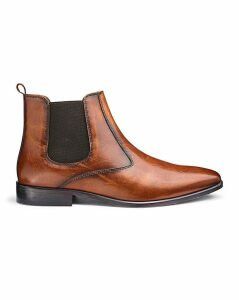 Peter Werth Leather Chelsea Boots