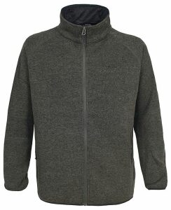 Trespass Rich Mens Marl Fleece Jacket