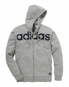 adidas Linear Logo Full Zip Hoodie