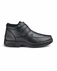 Cushion Walk Easy Fasten Boots Wide Fit