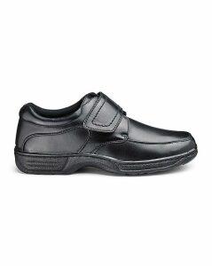 Cushion Walk Easy Fasten Shoe Wide Fit
