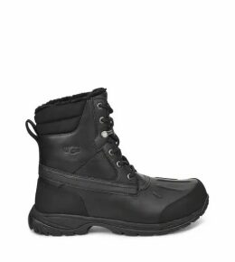 UGG Men's Felton Waterproof Boot in Black, Size 8
