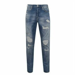 True Religion Rocco Patch Jeans