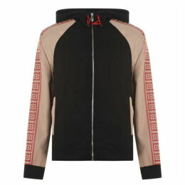 Versace Collection Greco Tape Zip Top