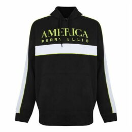 Perry Ellis Racer Hooded Sweatshirt