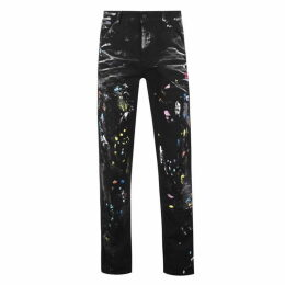 Off White Paint Splatter Jeans