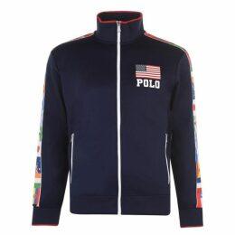 Polo Ralph Lauren Polo Tricot Flag Fz Sn93