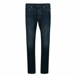 Tom Ford Washed Slim Fit Jeans