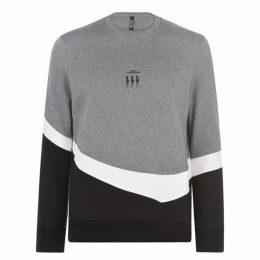 Neil Barrett Tri Logo Sweater