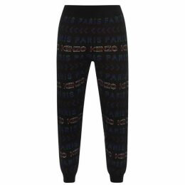 Kenzo All Over Print Jogging Bottoms
