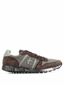 White Premiata lace up sneakers - Grey