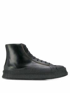 Jil Sander lace-up ankle boots - Black