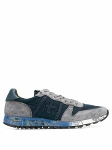 White Premiata lace up sneakers - Blue