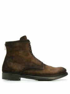 Officine Creative Hive lace-up boots - Brown