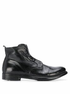 Officine Creative Hive laceless ankle boots - Black