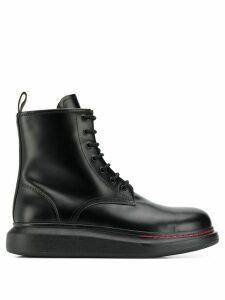 Alexander McQueen oversized ankle boots - Black