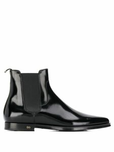 Dolce & Gabbana pointed Chelsea boots - Black