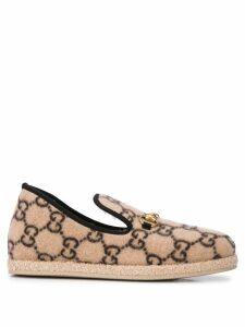 Gucci interlocked GG loafers - Neutrals