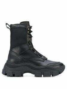 Prada chunky sole boots - Black