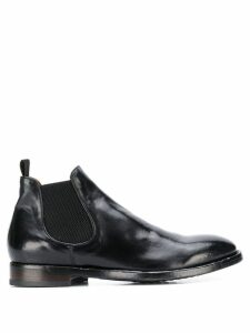 Officine Creative slip-on ankle boots - Black