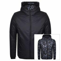Emporio Armani Reversible Down Jacket Navy
