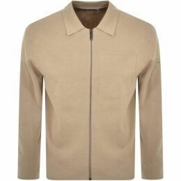 EA7 Emporio Armani Quilted Jacket Blue