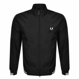 Fred Perry Twin Tipped Jacket Black