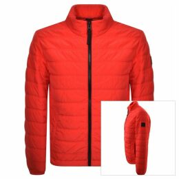 BOSS Casual Owest D Padded Jacket Red