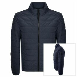 BOSS Casual Owest D Padded Jacket Navy